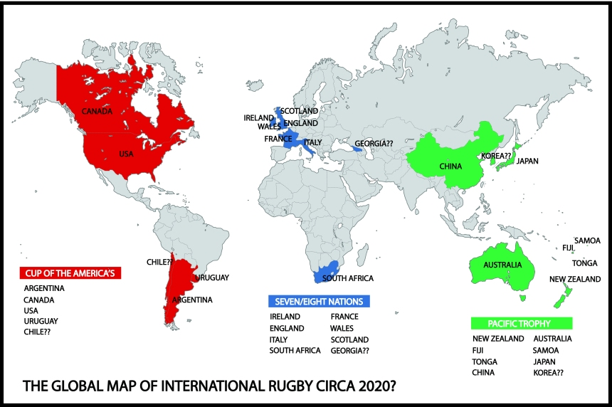 Rugby Map of the Future