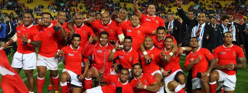 Tonga celebrate v France_2011 RWC