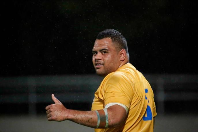 Sam Talakai_Brisbane City v Stars_2014_AJF