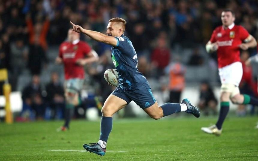 Ihaia West scores_Blues v Lions_2017