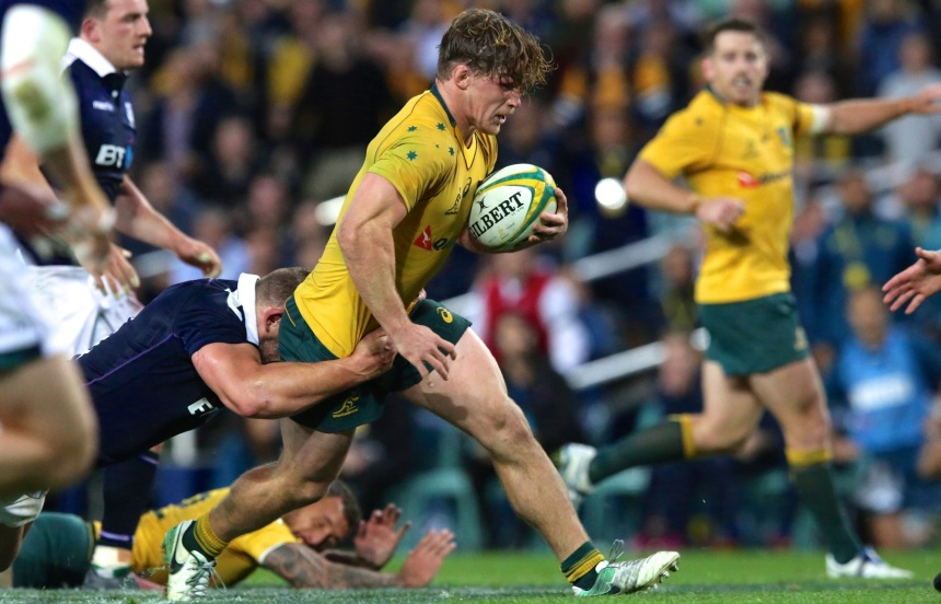 Michael Hooper_Wallabies v Scotland_2017_AJF