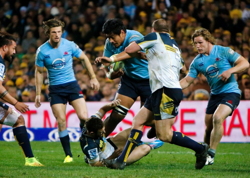 Will Skelton_Waratahs v Brumbies_2014 SF_KW
