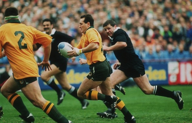 David Campese_Wallabies v All Blacks_RWC 1991 SF