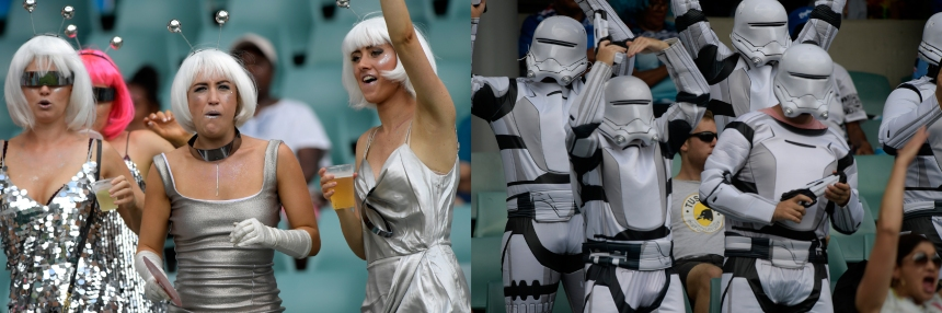 Sydney Sevens fancy dress