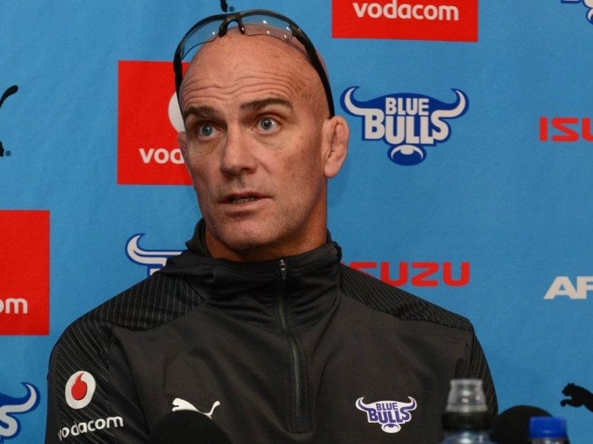 John Mitchell_Blue Bulls coach_2017