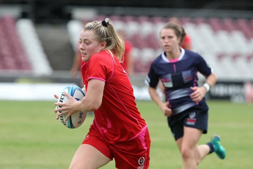 Queensland Women's XV v Melbourne Rebels Women