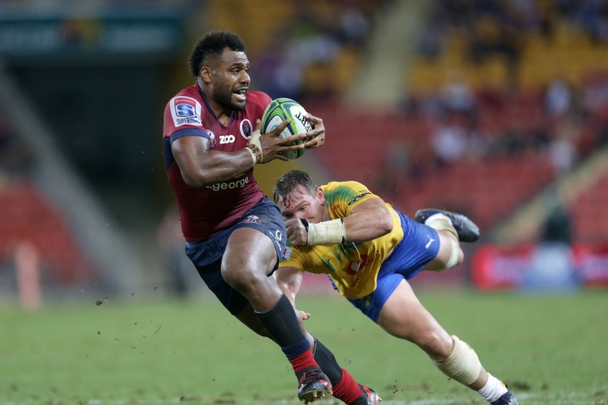 St.George Queensland Reds v Bulls