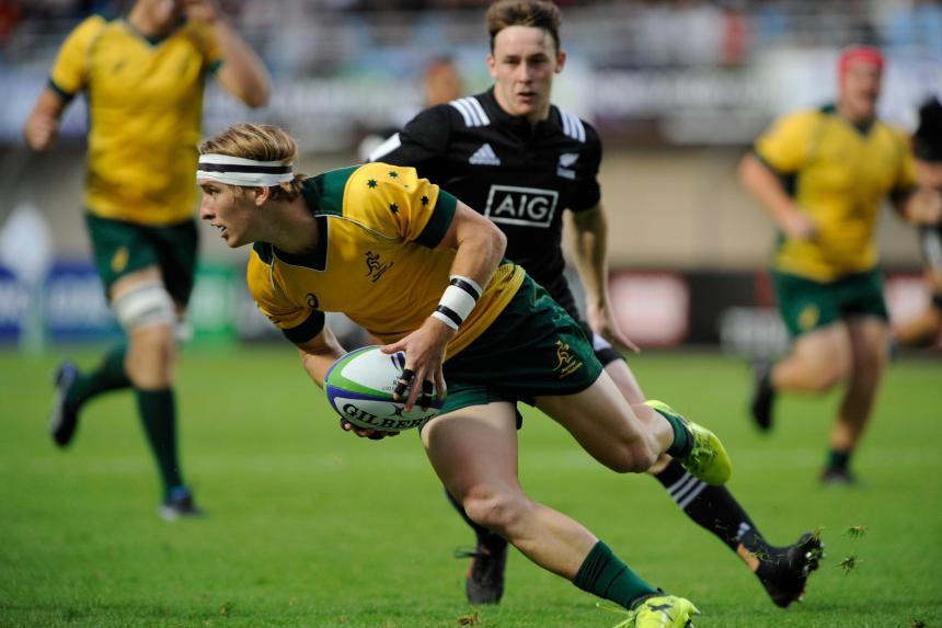 Tate McDermott_Aussie U20s v NZ U20s_2018