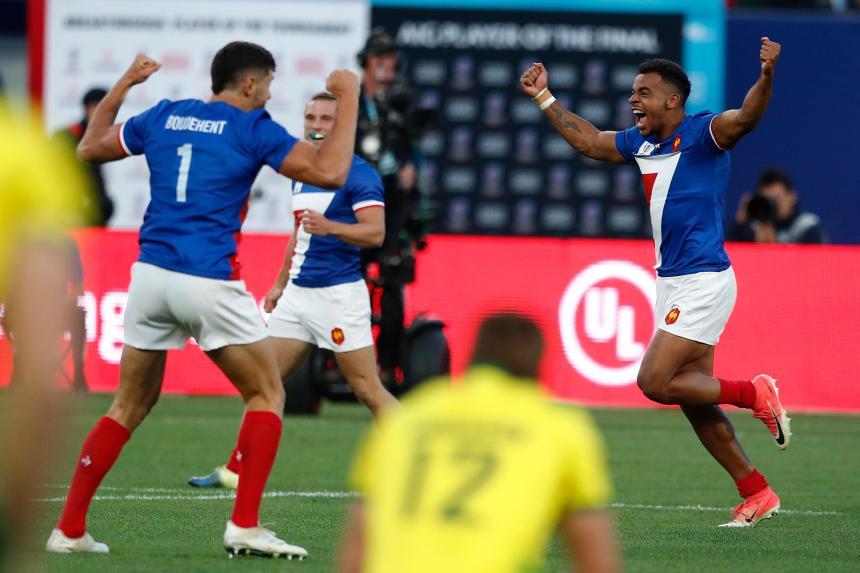 France celebrate_RWC 2018_WR