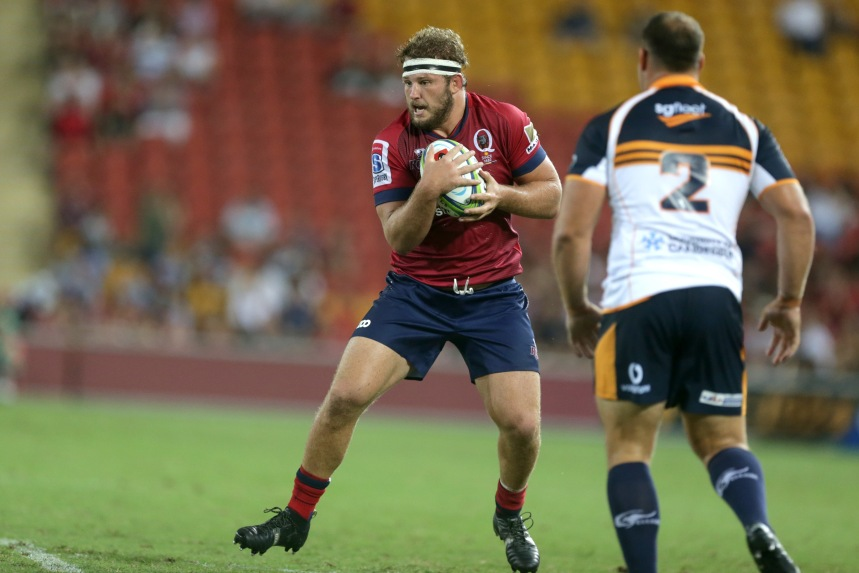 St George Queensland Reds v Brumbies Rd 2