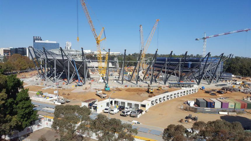 Western Sydney Stadium_Progress