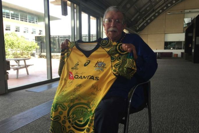 LLoyd McDermott_Wallaby jersey