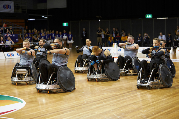 GIO IWRF WRWC 2018 Day One Matches - Australia v New Zealand