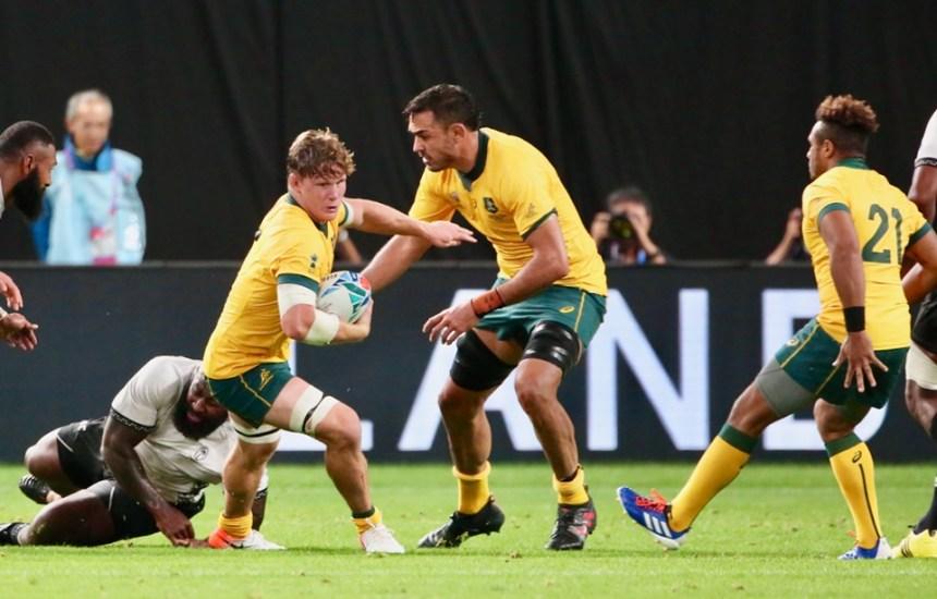 Michael Hooper_Wallabies v Fiji_RWC 2019_AJF