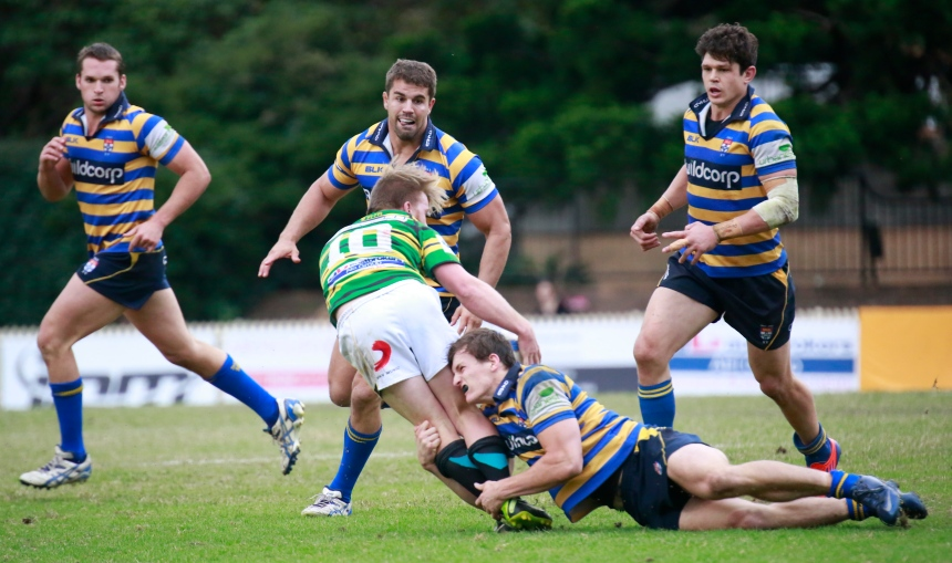 James Dargaville_tackle_Sydney Uni v Gordon_2014_AJF
