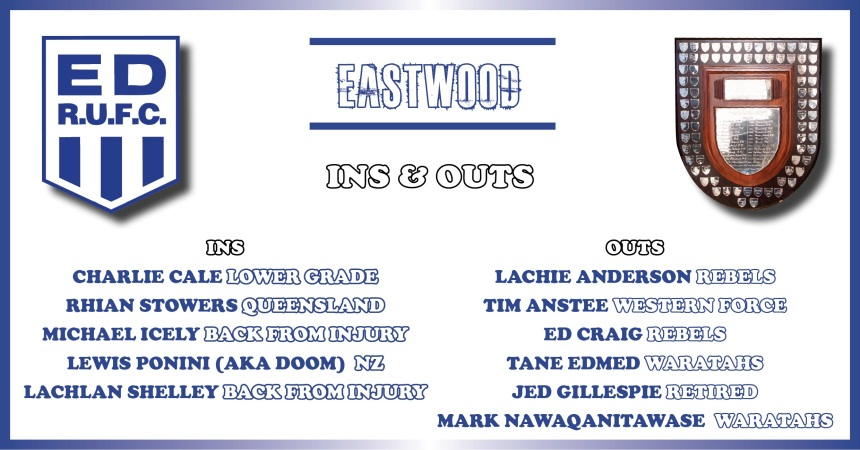 Eastwood Ins and Outs