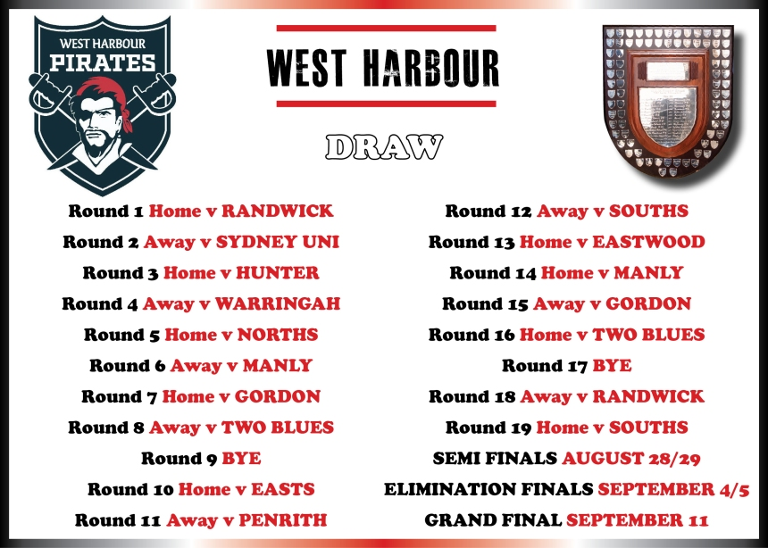 West Harbour Draw